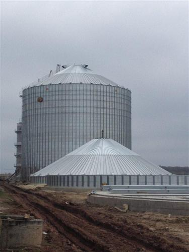 Compound feed industry enterprise with a capacity of 10 tons per hour, Ostrov village, Ternopol region